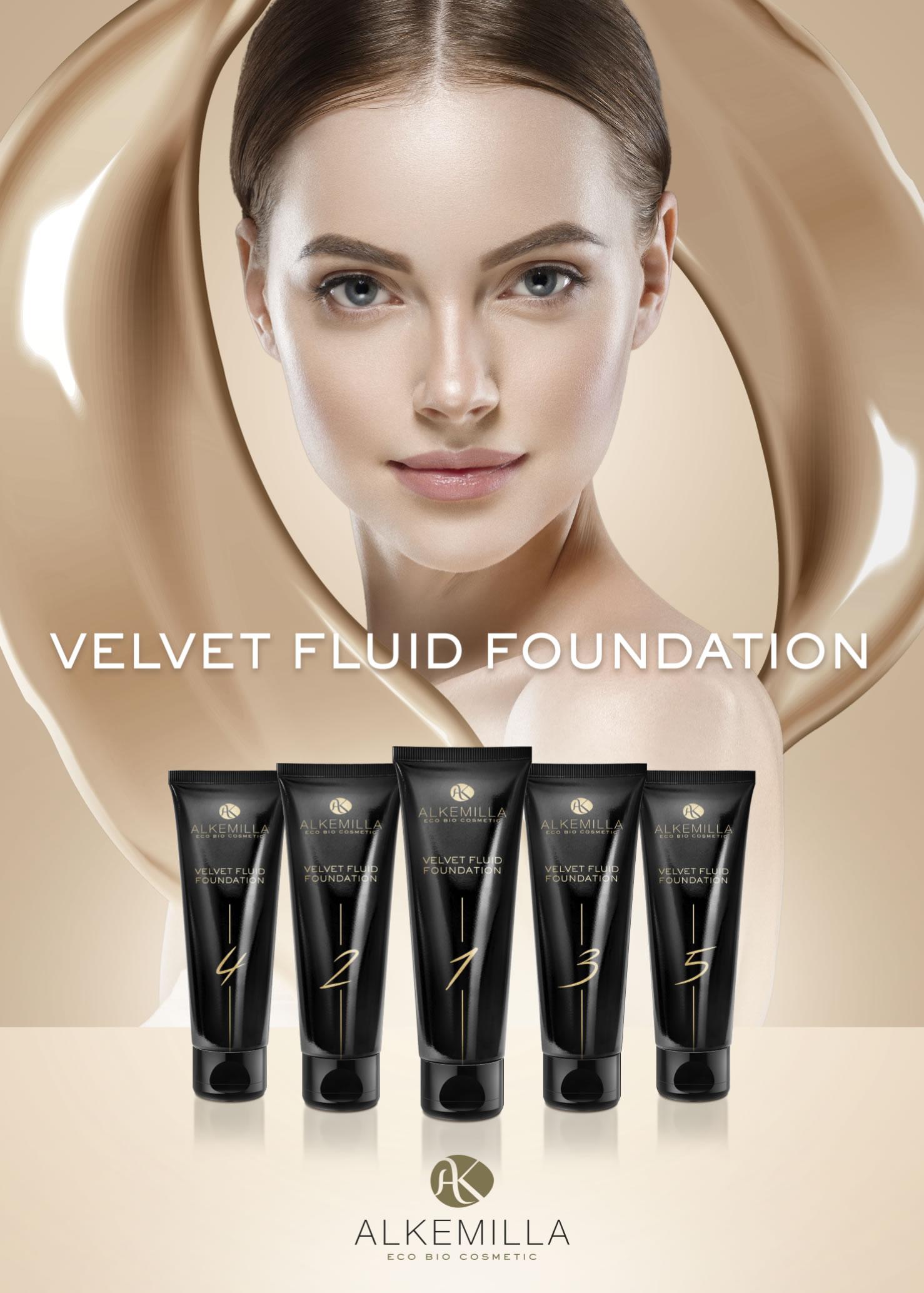 Alkemilla Velvet Fluid Foundation